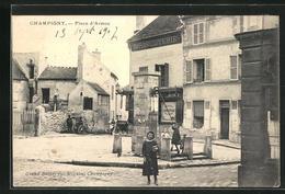 CPA Champigny, Place D` Armes - Non Classés