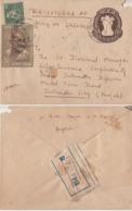 India 1969 Mahatma Gandhi Stamp F.P.O. NO. 731 Registered Cover # 20276   D   Inde Indien - Mahatma Gandhi