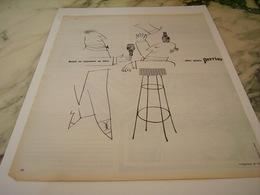 ANCIENNE PUBLICITE UN TIERS DEUX QUARTS PERRIER   1963 - Perrier