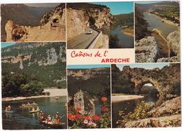 Canons De L'Ardeche - Les Gorges De L'Ardèche Entre Vallon-Pont D'Arc Et Saint-Martin - Vallon Pont D'Arc