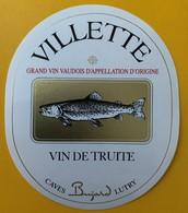 10859 - Villette Suisse Vin De Truite - Andere