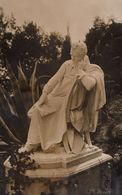 Lord Byron Sir Walter Scott Kingsleys Poetry Poem FOUR Antique Statue Postcard S - Postcards