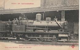 """LOCOMOTIVES - Cie Du Nord - Machine à 6 Roues Accouplées Dite """" Mammouth """" N° 3606 à 3787 - Trains"""