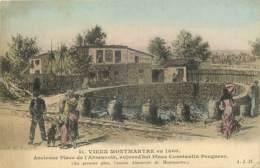 75 - PARIS - VIEUX MONTMARTRE EN 1860 - PLACE CONSTANTIN PECQUEUR - District 18