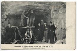 EPERNAY  PERCEMENT D UNE GALERIE DE CAVES - Epernay