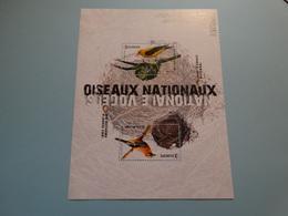 Belgié-Belgique 2019,oiseaux Nationaux - Geai Des Chênes,loriot D'Europe. - Belgique