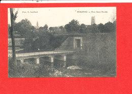 80 PERONNE Cpa Pont Saint Nicolas   Photo Souillard - Peronne