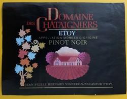 10867 - Domaine Des Chataigniers Pinot Noir Etoy  Suisse Jean-Pierre Bernard - Andere