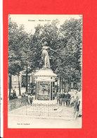 80 PERONNE Cpa Animée Monument Marie Fouré   Edit Souillard - Peronne