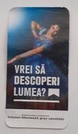ROMANIA-CIGARETTES  CARD,NOT GOOD SHAPE,0.90 X 0.45 CM - Tabac (objets Liés)