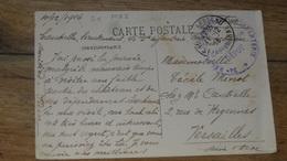 Cachet 34e Regiment Gerritorial D'infanterie, 1916, Sur Cp  De Fontainebleau  ………MZ2-3484 - Marcophilie (Lettres)