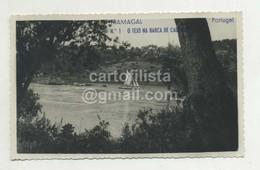 TRAMAGAL, Abrantes - O Tejo Na Barca De Caldelas  (2 Scans) - Santarem