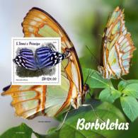 Sao Tome 2019  Fauna  Butterflies  S201903 - Sao Tomé Y Príncipe