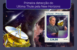 Sao Tome 2019  First Image Of Ultima Thule By Nasa's New Horizons .space S201903 - Sao Tome Et Principe