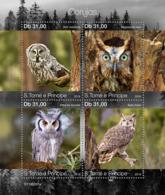 Sao Tome 2019  Fauna  Owls S201903 - Sao Tome Et Principe