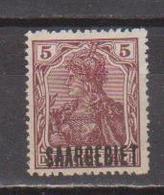 SARRE        N°  YVERT  :  33  NEUF AVEC  CHARNIERES      (  CH  02/29 ) - 1920-35 Société Des Nations