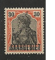 SARRE        N°  YVERT  :  39      NEUF AVEC  CHARNIERES      (  CH  02/29 ) - 1920-35 Société Des Nations