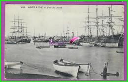 CPA (Sud Australie SA ) - ADELAIDE - 252. Vue Du Port - Barque Bateau Voilier - South Australia SA - Adelaide