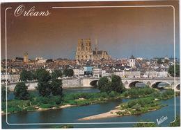 Orleans - Le Pont George V Sur La Loire Et La Cathédrale Sainte Croix - Orleans