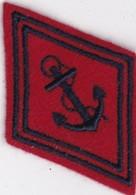 T 8)  Écusson Tissu Militaire Ou Autre (Format 7 X 5) - Ecussons Tissu