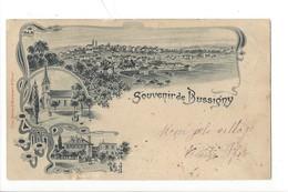 23081 - Souvenir De Bussigny Litho Carte Taxée - VD Vaud
