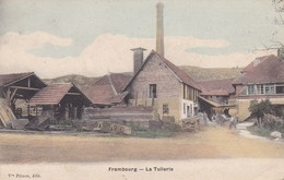 25 - FRAMBOURG - LA TUILERIE - COLORISEE - Other Municipalities