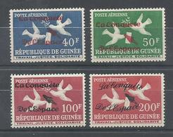 GUINEA YVERT  AEREO  22/25   MNH  ** - República De Guinea (1958-...)