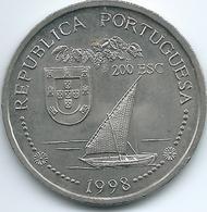 Portugal - 1998 - 200 Escudos - Discovery Of India - KM712 - Portugal