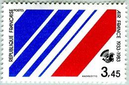 N° Yvert & Tellier 2278 - Timbre De France (Année 1983) - MNH - 50è Anniversaire Création Cie Air-France - France