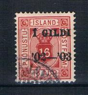 Island 1902 Dienstmarke Mi.Nr. 14 A Gestempelt - Service