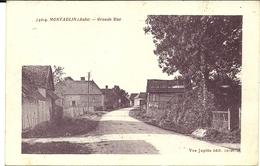 ( MONTAULIN )( 10 AUBE ) GRANDE RUE - Autres Communes
