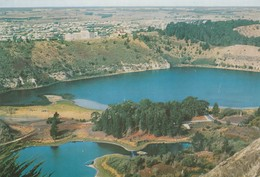 Postcard Browns And Valley Lakes Mt Gambier SA South Australia My Ref  B23692 - Mt.Gambier