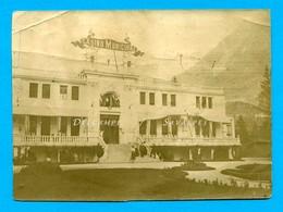 Chamonix * Casino Municipal * Photo Originale Vers 1910 - Places