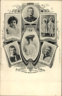 Cp Princesse Luise Von Österreich Toskana, Anna Monika Pia, Margarethe, Alix, Ernst, Georg - Familles Royales
