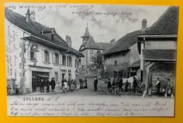 8789 - Rare Sullens Animée - VD Vaud