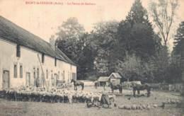 10 RIGNY LE FERRON LA FERME DE GERBAUT TRES ANIMEE CIRCULEE 1910 - Autres Communes