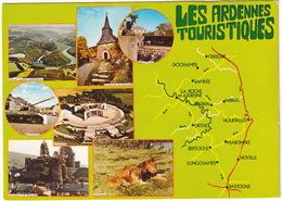 Les Ardennes Touristiques : Houffalize - Char/Tank & Dochamps - Lion/Leeuw  Etc. - (Belgie/Belgique) - La-Roche-en-Ardenne