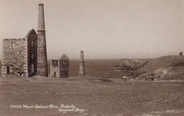 Wheat Golden Mine Mining Penhale Cornwall Antique Postcard - Other