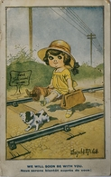 Illustrator Donald MC Gill // Card For French Market No 2895 ///1920 - Mc Gill, Donald