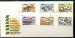 Tokelau 1986 Agriculture & Livestock FDC - Tokelau