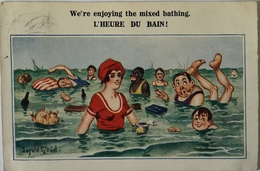 Illustrator Donald MC Gill // Card For French Market No 4383 ///1920 - Mc Gill, Donald