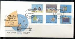 Tokelau 1988 Political Development FDC - Tokelau
