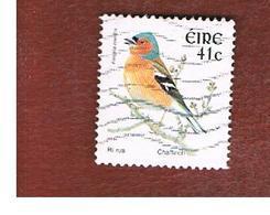 IRLANDA (IRELAND) - SG 1474  -   2002    BIRDS: FRINGILLA COELEBS   - USED - 1949-... Repubblica D'Irlanda