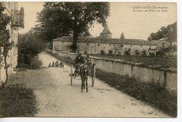 1354. CPA 24  CHENAUD. AVENUE DU PONT. LE LOGIS - France