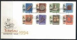 Tokelau 1994 Pictorials Handicrafts FDC - Tokelau