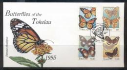 Tokelau 1995 Butterflies Of Tokelau FDc - Tokelau