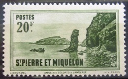 SAINT PIERRE ET MIQUELON                      N° 295                        NEUF** - St.Pierre & Miquelon