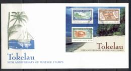 Tokelau 1998 Stamp Anniversary MS FDC - Tokelau