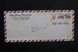 CORÉE - Enveloppe Commerciale De Séoul Pour La France En 1978 , Affranchissement Plaisant - L 33953 - Corée Du Sud