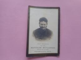 D.P.-MATHILDE MUYLANDER+23-7-1920 TE SINT-DENIJS-BOEKEL-86 JAREN - Religion & Esotérisme